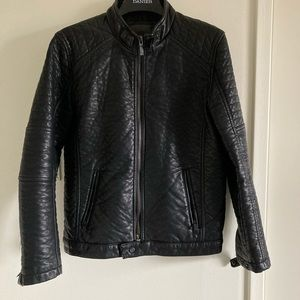 Point Zero Leather Jacket